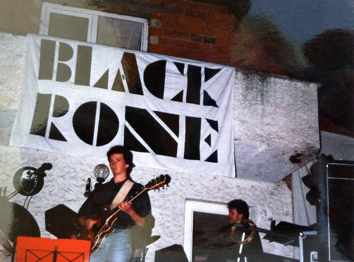 1986 - Black Rose an der Steinbach